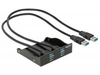 Delock USB 3.0 Front Panel 2-Port