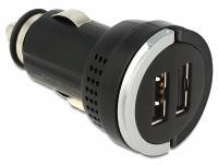 Navilock Car adapter DC 2 x USB A 3.1 A