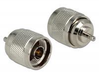 Delock Adapter N Plug SSMB Jack