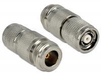 Delock Adapter N Jack RP-TNC plug