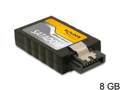 Delock SATA 6 Gbs Flash Module 8 GB A19 vertical