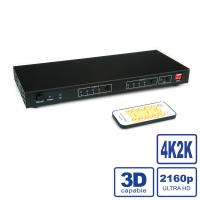 ROLINE HDMI 4K2K Matrix Switch, 4 x 2, with Remote Control
