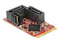 Delock M.2 NGFF 2242 B+M RAID Module IO 2 x SATA 6 Gbs