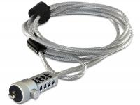 Navilock Notebook security cable with combination lock