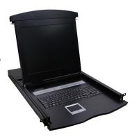 "VALUE 19"" LCD KVM Switch 1 User - 8PCs, 43 cm (17"") TFT (4:3), VGA, USB + PS/2, D"