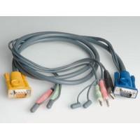 KVM kabelis USB 3285/3286, 3.0m