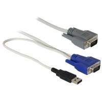 KVM kabelis USB 1.8m, 591030