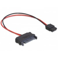 Cable SATA power 15 pin - SATA power 6 pin, 24cm