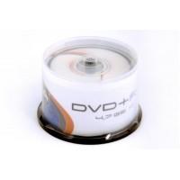 DVD+R 4.7GB 16x iepak. bez vāciņiem 50gab., (40259)