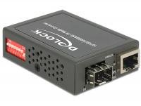 Delock Media Converter 101001000Base-T to SFP compact