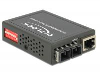 Delock Media Converter 1000Base-SX SC MM 850 nm 550 m compact