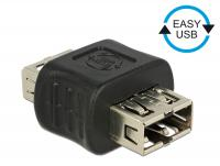 Delock Adapter EASY-USB 2.0 Type-A female EASY-USB 2.0 Type-A femal