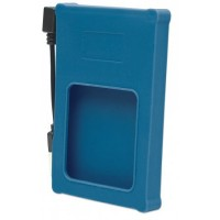 "Drive Enclosure Hi-Speed USB 2.0, SATA, 2.5"", blue"