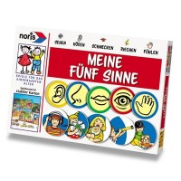 Game Spēle Meine fünf Sinne