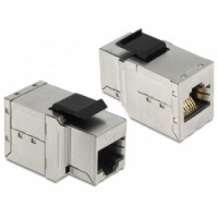 Delock Keystone Module RJ45 female - RJ45 female Cat.6