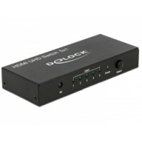 Delock HDMI UHD Switch 5 x HDMI in - 1 x HDMI out 4K