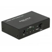 Delock HDMI UHD Switch 3 x HDMI in - 1 x HDMI out 4K