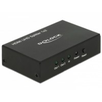 Delock HDMI UHD Splitter 1 x HDMI in - 2 x HDMI out 4K