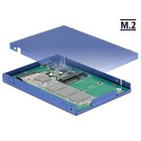 Delock 2.5″ Converter USB 3.1 Micro-B female - M.2 / mSATA with enclosure