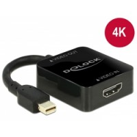 Delock Adapter High Speed HDMI-A female - mini Displayport 1.2 male