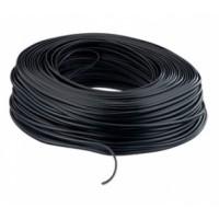 Telefona kabelis, melns 100 m