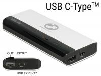 Power Bank 10200 mAh 1 x USB Type-A female, 1 x USB Type-C™ female