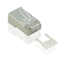 VALUE Cat.6 Modular Plug, STP, for Stranded Wire, 10 pcs.