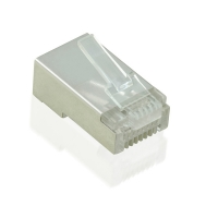 VALUE Cat.5e Modular Plug, STP, for Stranded Wire, 10 pcs.