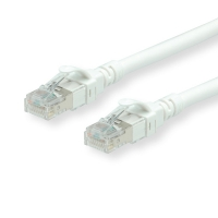ROLINE UTP Patch Cord Cat.6A, Component Level, LSOH, white, 2.0 m