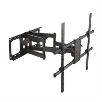 VALUE Solid Articulating Wall Mount TV Holder, black