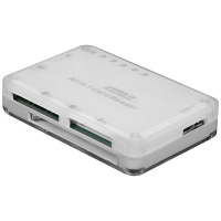 VALUE USB 3.0 Mini Card Reader, external, white