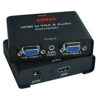 ROLINE HDMI to VGA Splitter, 2-way