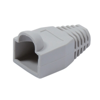 VALUE Kink protection hood for RJ-45, grey, grey, 10 pcs.