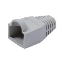 VALUE Kink protection hood for RJ-45, grey, grey, 10 pcs.