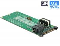 Delock Converter U.2 SFF-8639 / SFF-8643 NVMe > 1 x M.2 Key M