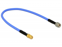 Delock Antenna Cable SMA Plug > SMA Jack (RG-402 semi flexible, 30 cm) low loss