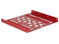 Delock Aluminium installation frame 2.5″ to 3.5″ red