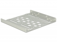 Delock Aluminium installation frame 2.5″ to 3.5″ silver