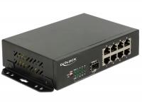 Delock Gigabit Ethernet Switch 8 Port + 1 SFP