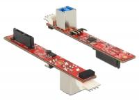 Delock Converter Slim SATA 13 pin > USB 2.0 Type-B female