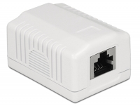 Delock Network Wall Outlet 1 Port Cat.6A LSA