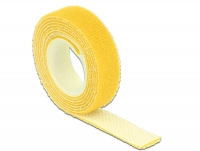 Delock Hook-and-loop fasteners L 1 m x W 13 mm roll yellow