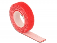 Delock Hook-and-loop fasteners L 1 m x W 13 mm roll red