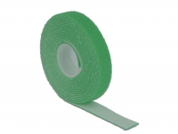 Delock Hook-and-loop fasteners L 3 m x W 13 mm roll green