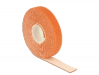 Delock Hook-and-loop fasteners L 3 m x W 13 mm roll orange