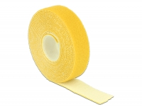 Delock Hook-and-loop fasteners L 3 m x W 20 mm roll yellow