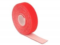 Delock Hook-and-loop fasteners L 3 m x W 20 mm roll red