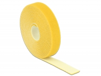 Delock Hook-and-loop fasteners L 5 m x W 20 mm roll yellow
