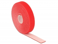 Delock Hook-and-loop fasteners L 5 m x W 20 mm roll red
