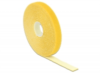 Delock Hook-and-loop fasteners L 5 m x W 13 mm roll yellow
